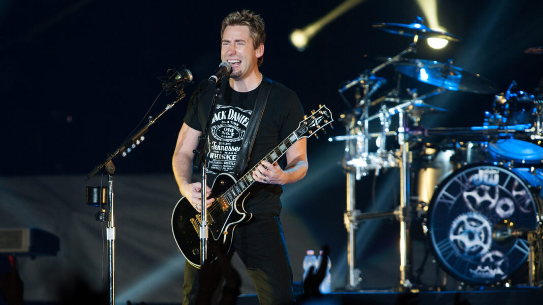 Nickelback lead singer Chad Kroeger