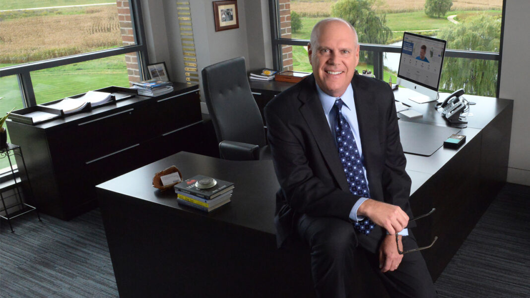 Jack Salzwedel, chairman and CEO of American Family Insurance