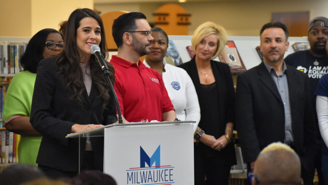 Liz Gilbert was fired from her role as president of the Milwaukee 2020 Host Committee.