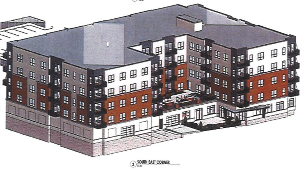 Lake Terrace project. Rendering: Stephen Perry Smith Architects Inc.