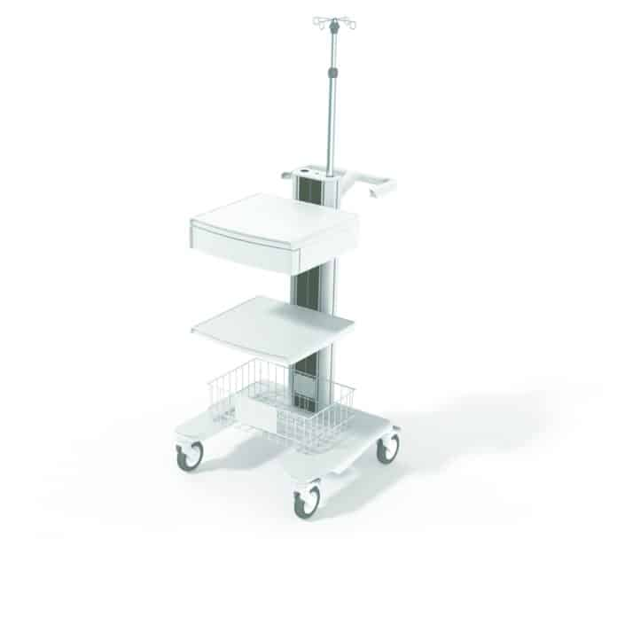 Midwest Products & Engineering is increasing production of medical carts for ventilators.