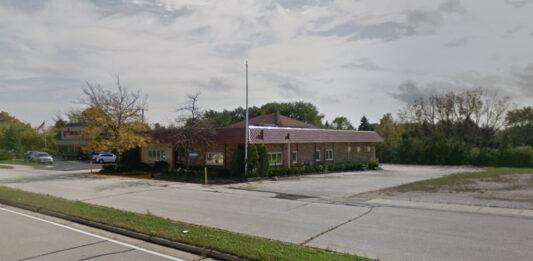 Former Pepino's restaurant building in Brookfield. Credit: Google
