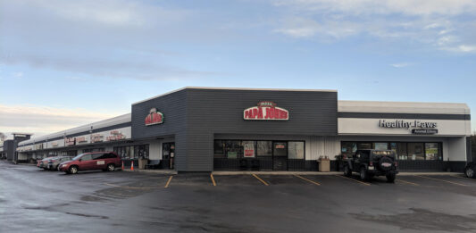 Shops on Appleton. Photo courtesy of SONA Investments/Newmark Knight Frank