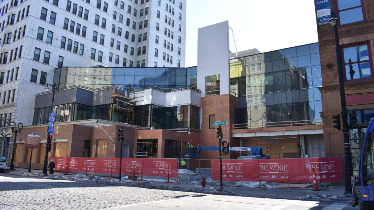 Newly discovered basement area brings more opportunities to The Avenue