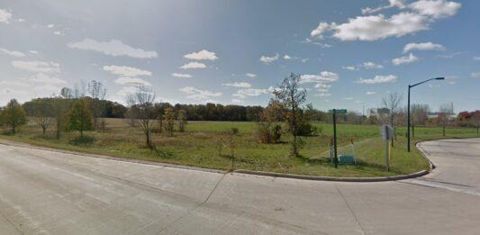 Site of Zilber's planned spec buildings. Credit: Google
