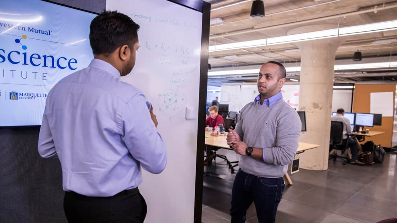 The Northwestern Mutual Data Science Institute is a partnership of the Milwaukee-based life insurance company, the University of Wisconsin-Milwaukee and Marquette University.