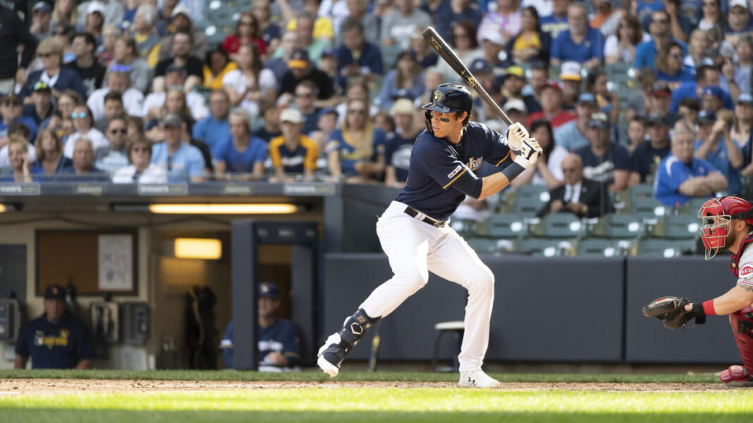 Christian Yelich. Photo credit: Kirsten Schmitt/Brewers