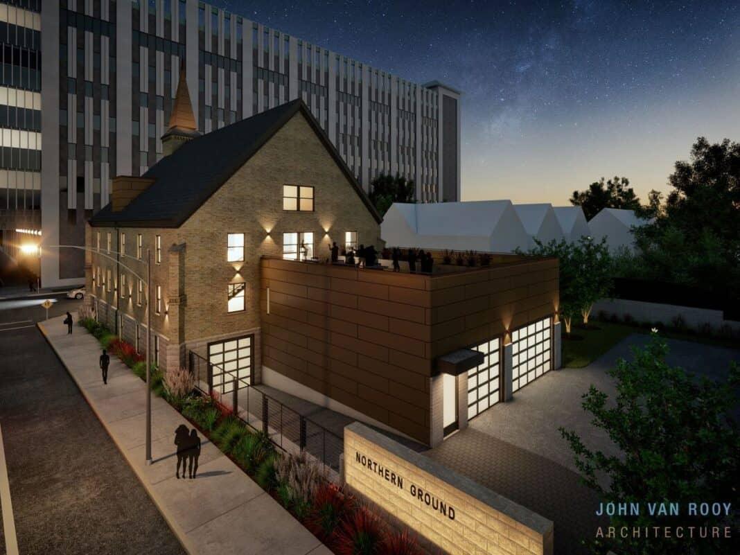 Rendering: Jon Van Rooy Architecture