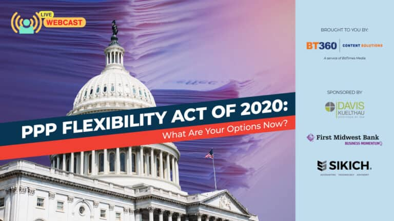 Webcast Header PPP Flexibility Act of 2020 Webcast