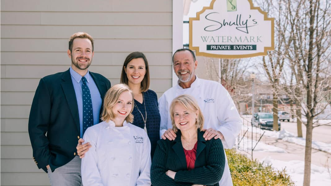 (back row from left) Jacob Shully, Nina Shully-Darling, Scott Shully, (front from left) Hadley Shully and Beth Shully