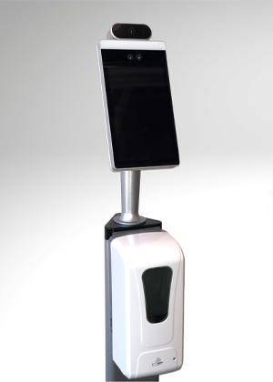 Video hand sanitizer