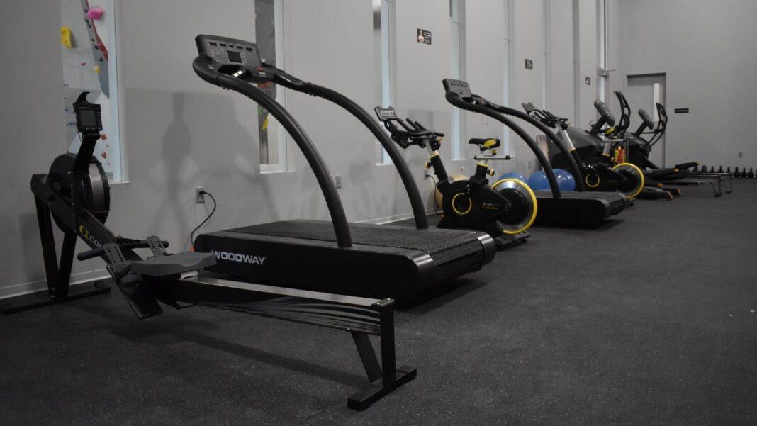 Cardio equipment for gym members