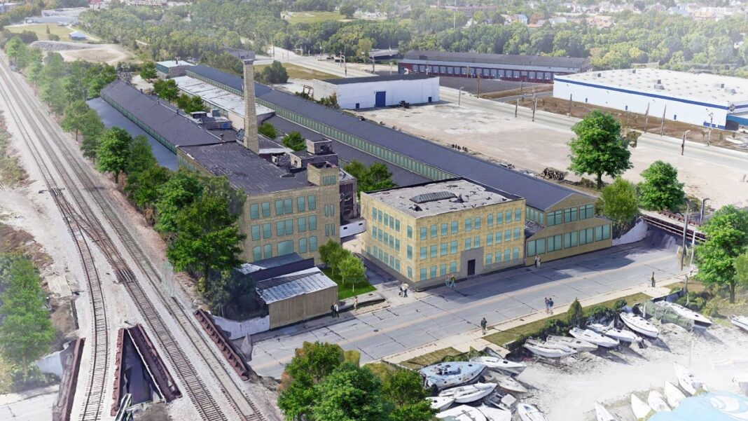 Bear Development's proposed adaptive reuse project in Milwaukee's Harbor District