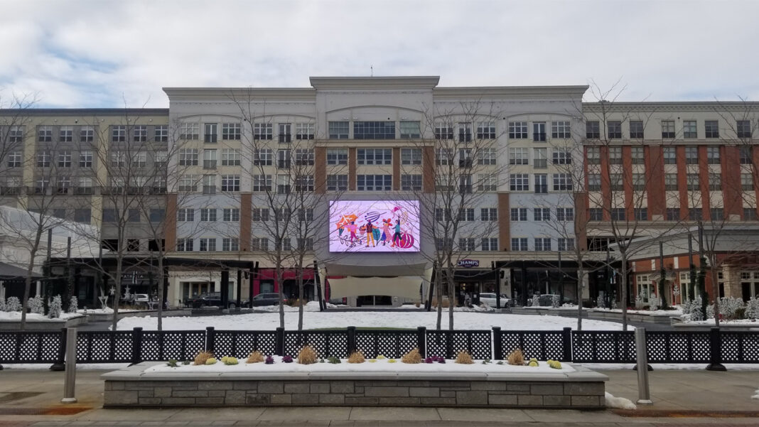 Bayshore is being redeveloped with a new town square, a smaller retail footprint and new apartments.